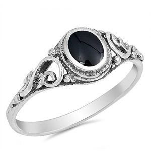 CHOOSE YOUR COLOR Sterling Silver Ring
