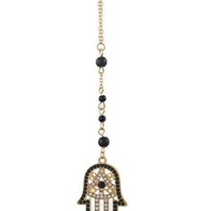 MJartoria Long Pendant Necklace Retro Necklace for Women Beads Chain Matching Clothing Jewelry